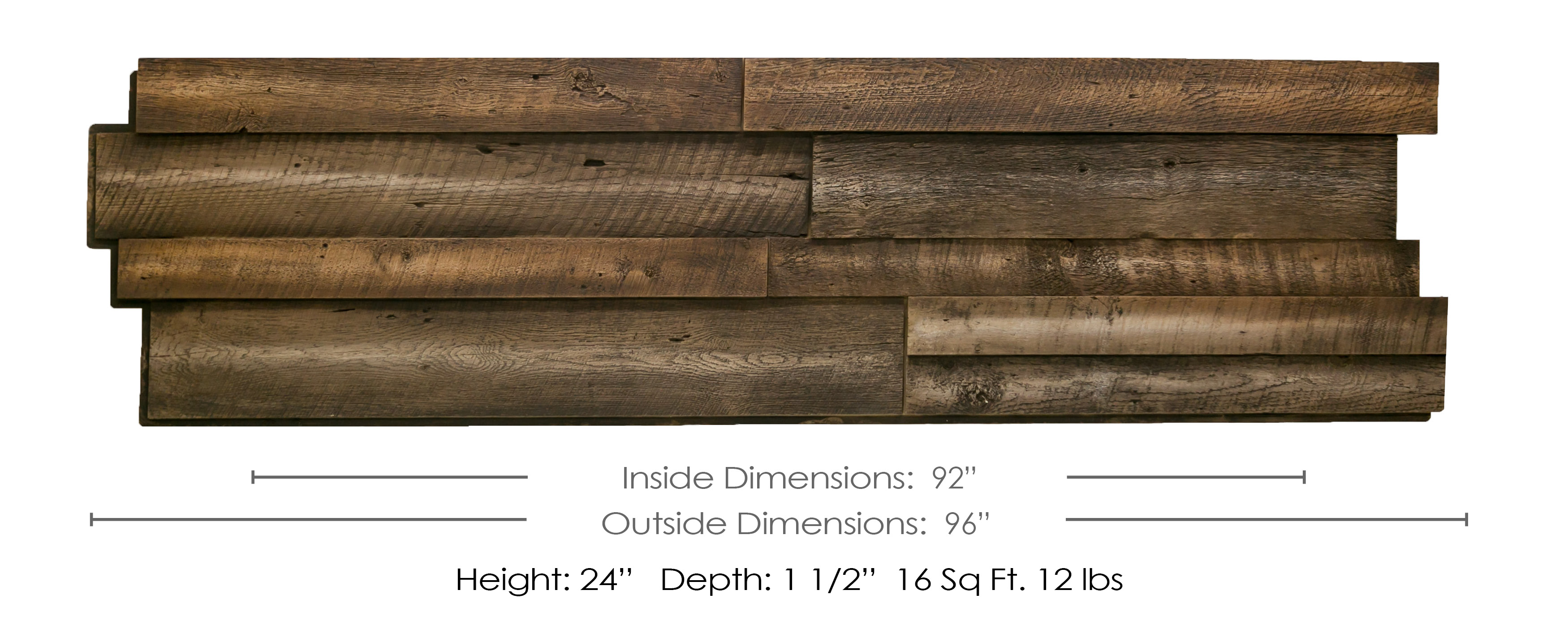 Reclaimed Wood Dimensions