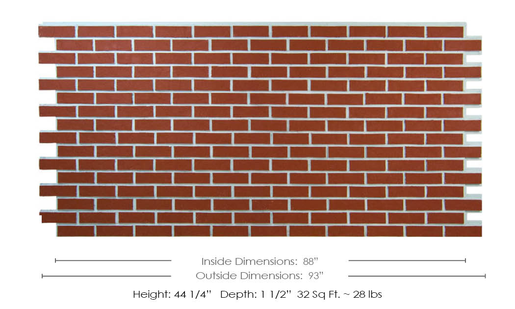 Clean Brick Dimensions