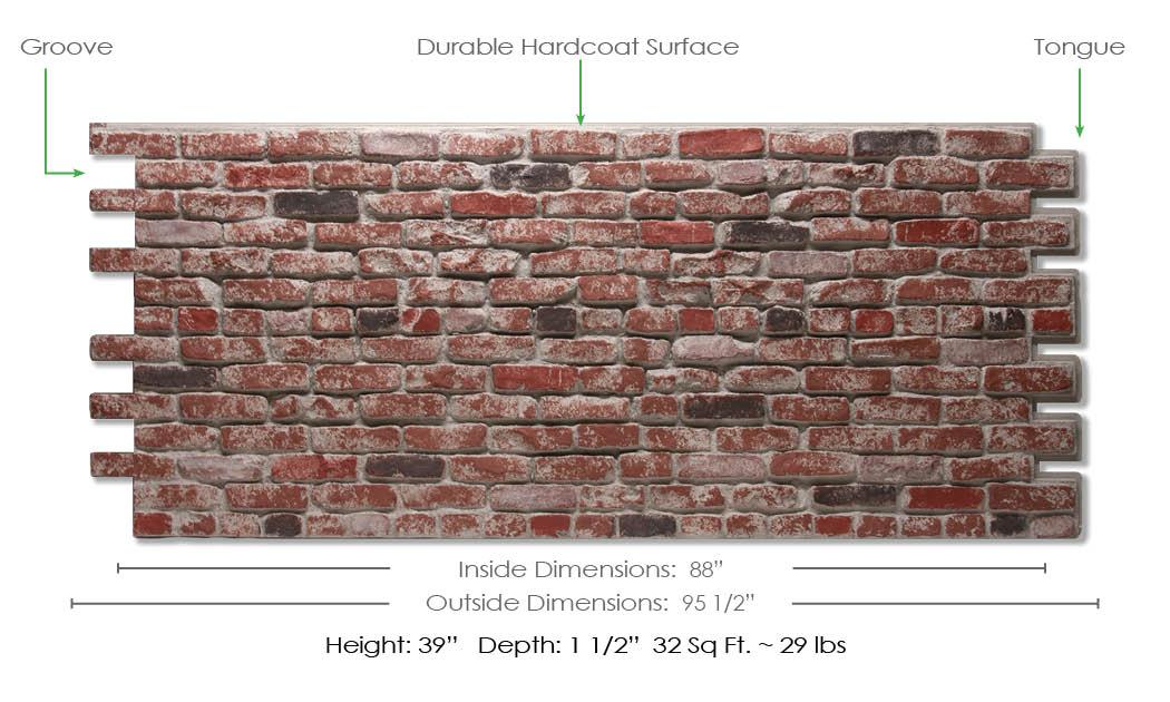 St. Louis Brick Dimensions
