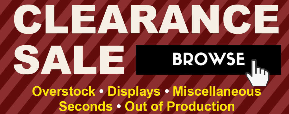 view clearance and sale items on our e-commerce site